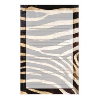 Zebra Hide 2 Stationery Design