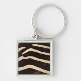 Zebra Hide Key Ring
