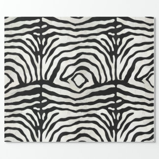 Zebra Hide Wrapping Paper