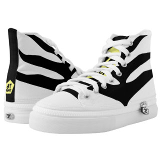 Zebra High Tops