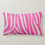 Zebra Hot Pink and White Print