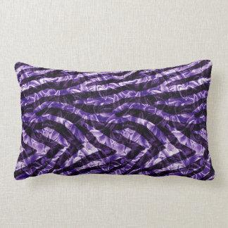 Zebra Hyacinth Lumbar Cushion