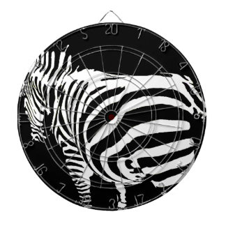zebra in the farm dartboard