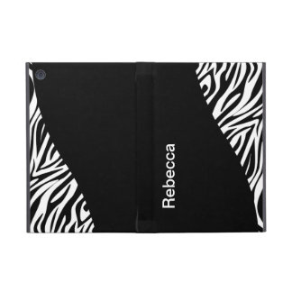 Zebra iPad Mini Folio Case