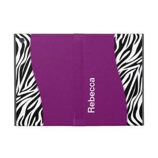 Zebra iPad Mini Folio Case