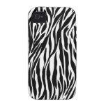 zebra iphone 4 tough case iPhone 4/4S case