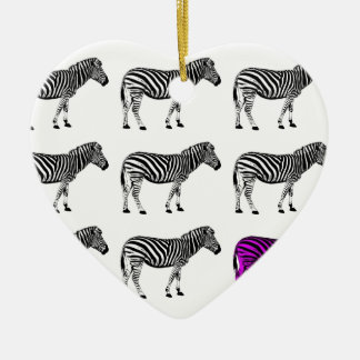 zebra.jpg christmas ornament