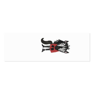 Zebra Jungle Friends Baby Animal Water Color Pack Of Skinny Business Cards