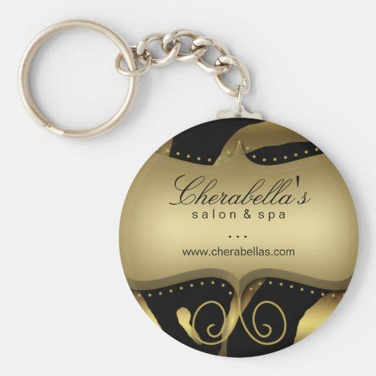 Zebra Key Chain Gift animal gold black