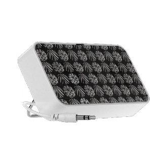 Zebra/kitty Paws Metal Textured PC Speakers