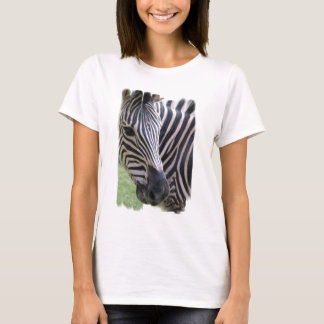 Zebra Ladies T-Shirt
