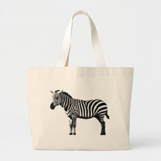 Zebra Large Tote Bag
