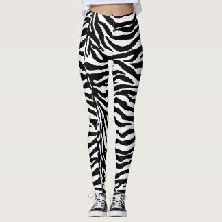 Zebra Leggings by Ze Rebelle