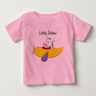Zebra Little Sister Baby T-Shirt