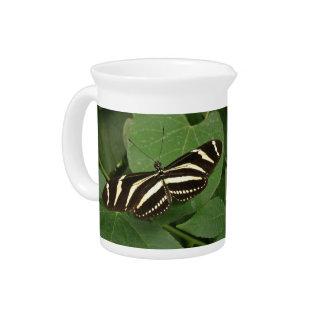 Zebra Longwing Butterfly Pitcher