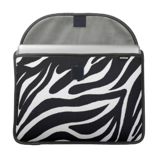 "Zebra Macbook Pro 15"" Sleeve"
