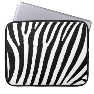 Zebra-markings Laptop Sleeve