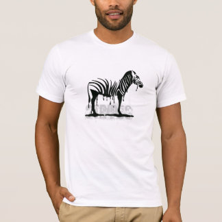 Zebra meltdown T-Shirt