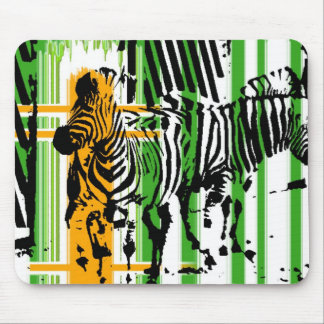 Zebra Mouse Mat