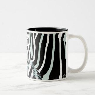 Zebra Two-Tone Mug