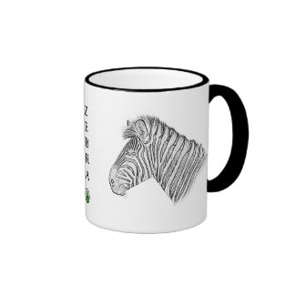 Zebra Mug - Africa Series