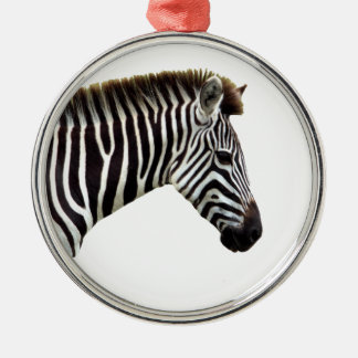 zebra-on-the-masai-mara christmas ornament