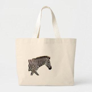 zebra-on-the-masai-mara large tote bag