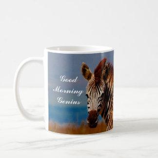 Zebra on the mountain mugs