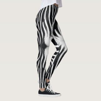 Zebra Optic Leggings