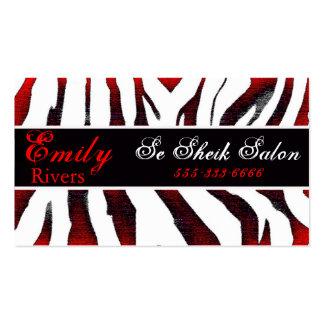 zebra pack of standard business cards