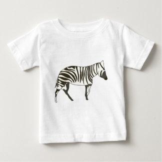 Zebra painting, wildlife art tee by CherylsArt