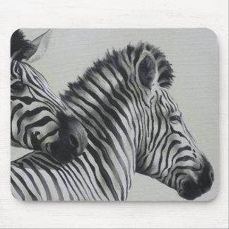 Zebra Pair Mouse Mat