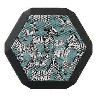 Zebra Pattern Black Bluetooth Speaker