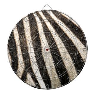 Zebra pattern dartboard