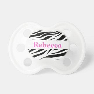 Zebra Pattern Dummy