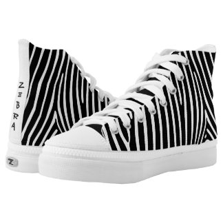 ZEBRA Pattern High Tops