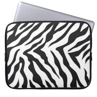 Zebra Pattern Laptop Sleeve