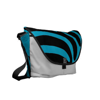 ZEBRA Pattern Messenger Bag