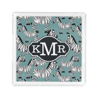 Zebra Pattern | Monogram