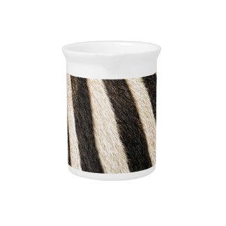 Zebra pattern pitcher