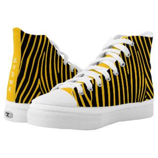 ZEBRA Pattern Printed Shoes