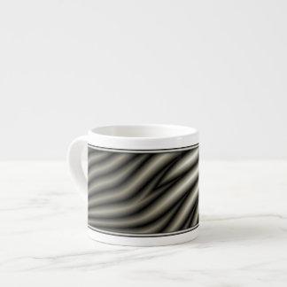 Zebra Pattern Espresso Mugs