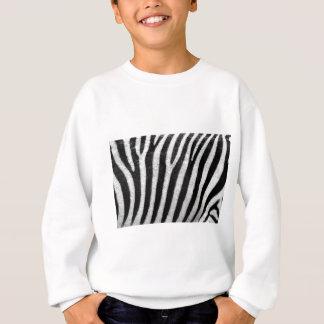 Zebra Pattern Sweatshirt