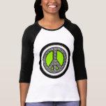 Zebra Peace Sign T-shirt
