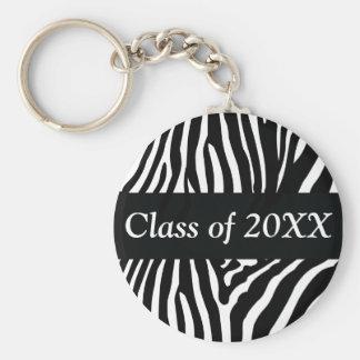 Zebra Personalized Class Of Keychain