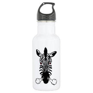 Zebra 18oz Water Bottle