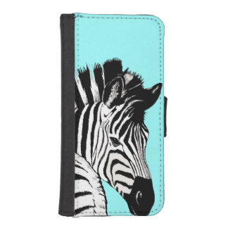 zebra phone wallet case