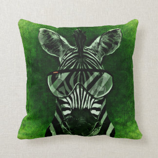 Zebra pillow