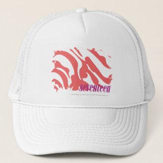Zebra Pink 4 Trucker Hat