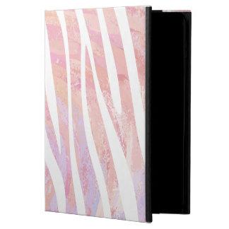 Zebra Pink and White Print iPad Air Case